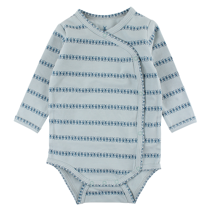 41601 Small Rags Gavi LS Wrapover 50-80 cl Cloud Blue