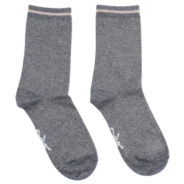 70619 Small Rags Gerda Socks st.29-36  Grey Melange